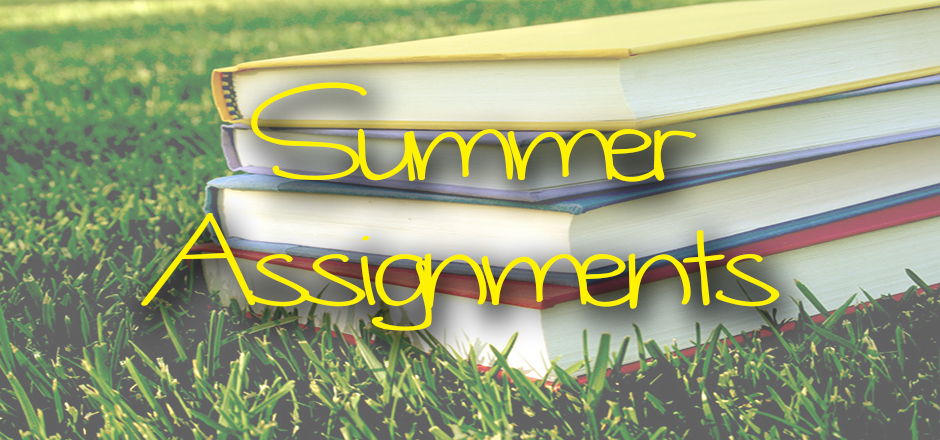 st. gregory the great summer assignments
